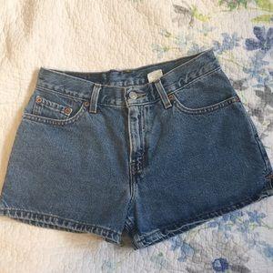 Vintage Levi's Jean Denim Shorts